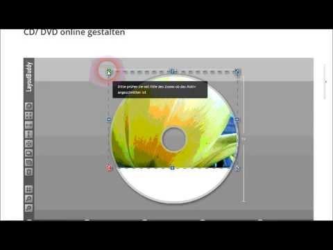 CD Label online erstellen (CD Rohling)