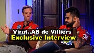 EXCLUSIVE INTERVIEW: Virat Kohli & AB De Villiers Together For The First Time   Sports Tak