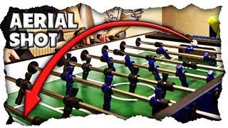 Tischfußball Trick Shot lernen – Der Aerial Shot