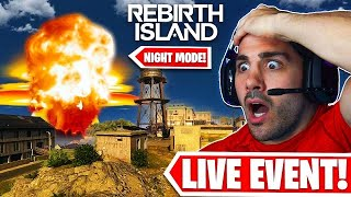 Warzone Was NUKED! NEW REBIRTH ISLAND NIGHT MODE! (LIVE EVENT)