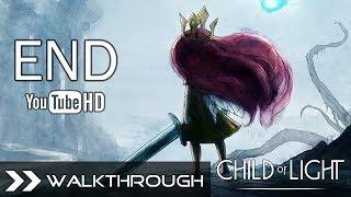Child of Light Ending - Walkthrough Gameplay (Umbra Final Boss & After Credits Cutscene) HD 1080p
