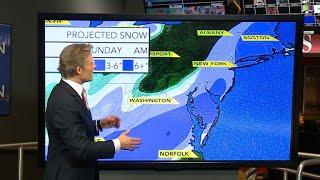 Wintry weather sweeps across the U.S.