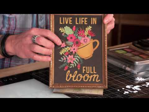 DID YOU KNOW? Sizzix Funky Florals with Tim Holtz