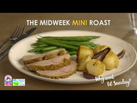 Mini Roast Lamb with warm spices recipe
