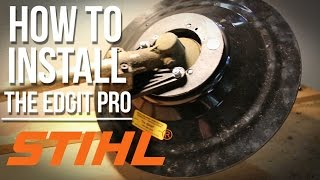Stihl spool head modification most popular videos how to install the edgit pro on a stihl trimmer step by greentooth Gallery