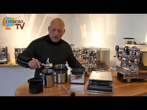 Abklopfkästen für Espressomaschinen