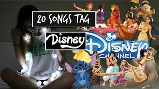 20 SONG TAG DISNEY || Natalia Lopez