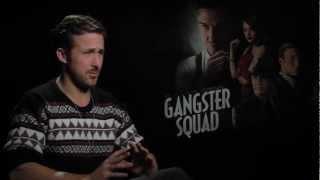 Ryan Gosling Talks Emma Stone In Gangster Squad