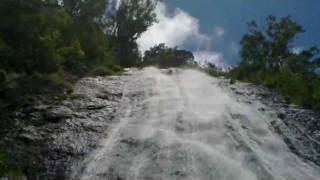 preview picture of video 'Cascade du Voile de la Mariée'