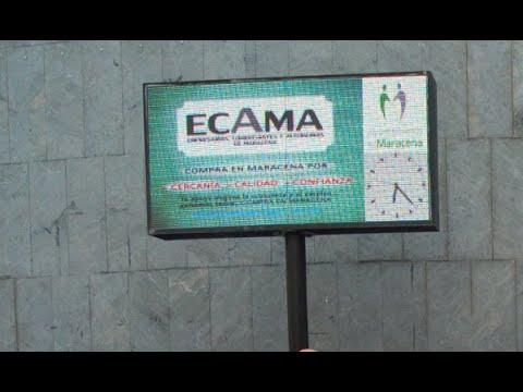 Las pantallas de información municipal, a disposición de los comercios locales