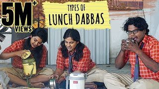 "Types of ""LunchDabbas"" 
