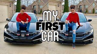Buying My First Car At 16 Vlog |  LexiVee03