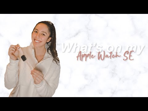 what's on my apple watch se? || Amanda Marie