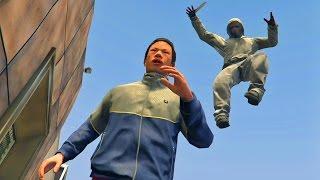 GTA 5 Online - BEST KILL EVER! (GTA V Online)