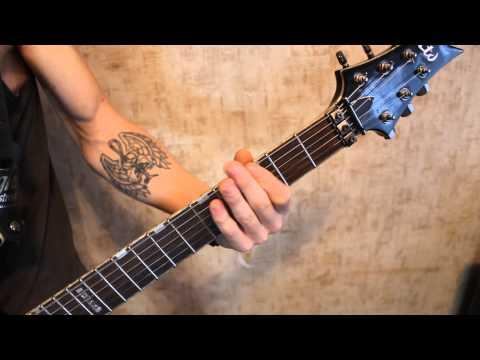 Metallica - Dirty window(guitar cover brutalmetal)