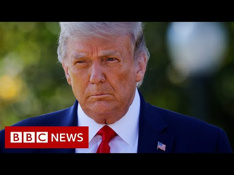 Under-fire Trump seeks to qualify far-right remarks - BBC News