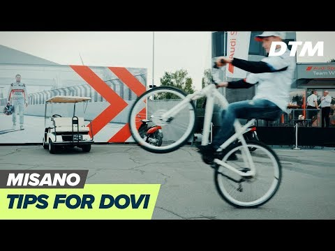 Tips for Dovi's DTM race from the drivers - welcome to DTM Misano!