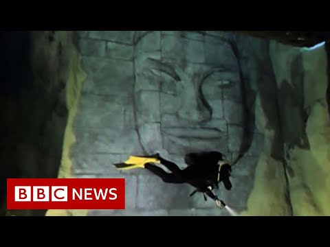 The world's deepest diving pool in Poland - BBC News