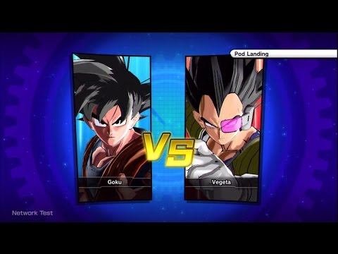 Dragon Ball Xenoverse: Goku vs Vegeta Gameplay [ENGLISH Online Beta]【HD】