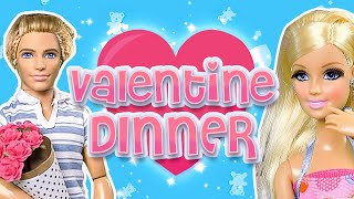 Barbie - Valentine Dinner For Two   Ep.54