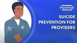 Suicide Prevention for Providers