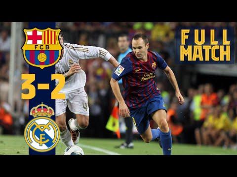 FULL MATCH: BARÇA 3-2 REAL MADRID (SPANISH SUPERCUP FINAL)