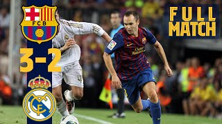 FULL MATCH: BARÇA 3-2 REAL MADRID (SPANISH SUPERCUP FINAL)