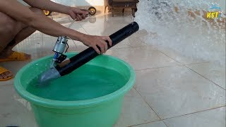 How to make a Turbo Jet Water Pump Powerful 12V using 775 Motor