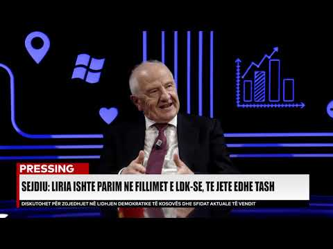 PRESSING, Fatmir Sejdiu - 15.04.2019