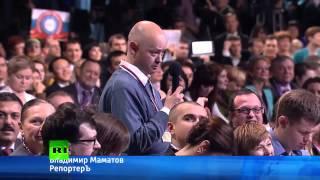 Вятский квас - вопрос Путину от журналиста (под музыку soundnova.ru)
