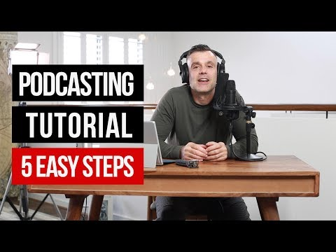 Podcasting Tips for Beginners - Audio Gear, Editing, Hosting and Distributing