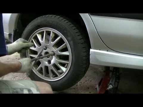 Ремонт заднего тормозного суппорта