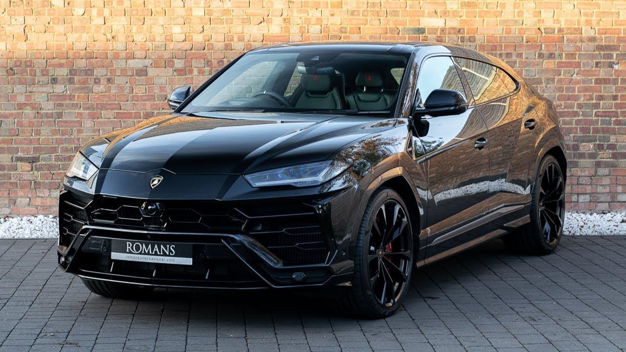 2018 Used Lamborghini Urus V8 Nero Helene