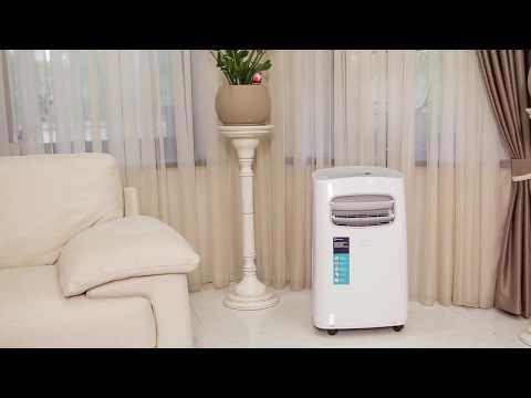 Мобильный кондиционер Electrolux EACM-12 CG/N3 Video #1