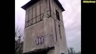 preview picture of video '[ Linia D29-144 ]  wieża ciśnień i stacja Tworóg #grudzień 2008r'