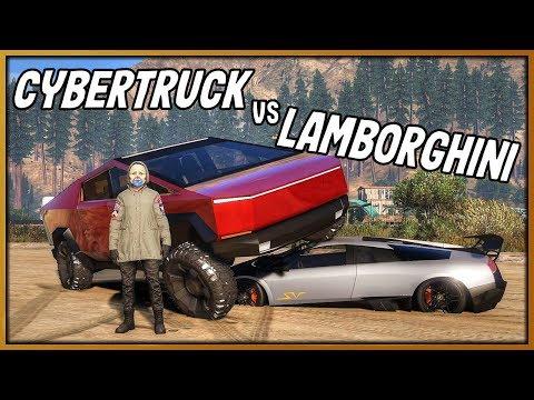 GTA 5 Roleplay - Stolen Tesla Cybertruck 'EMBARRASSED' Supercar Owners | RedlineRP #797