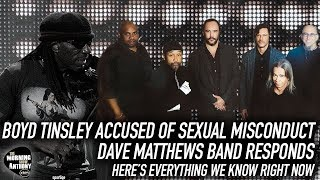 Boyd Tinsley Accused of Sexual Misconduct Dave Matthews Band Responds