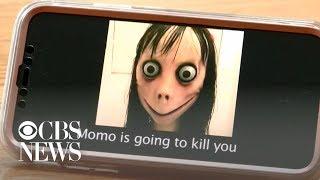 """""""Momo challenge"""" spurs girl's dangerous behavior, mom says"""