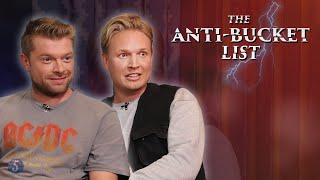 AAN DE PILLEN OP LIVE TELEVISIE - THE ANTI-BUCKETLIST   Gierige Gasten
