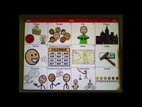 Communication Journey: Aphasia - Customize Grid