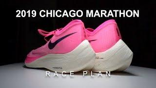 2019 Chicago Marathon Race Plan - Chasing 3