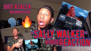 "Iggy Azalea ""Sally Walker"" (MUSIC VIDEO REACTION) @kingdreshon"