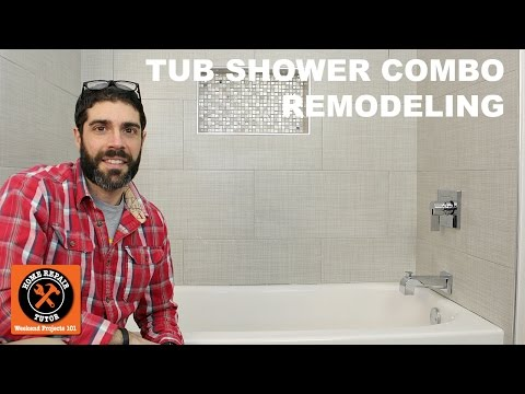 Tub Shower Combo Remodeling (Quick Tips)