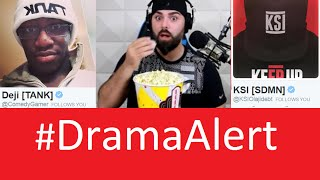 KSI vs ComedyShortsGamer #DramaAlert - Playground Insult Match!