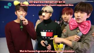 Sandeul, Baro, Gongchan - Only Learned Bad Things (16.12.13) {Hangul, Romanization, Eng Sub}