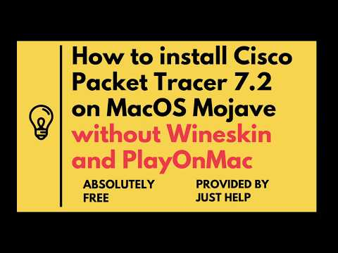How to install Cisco Packet Tracer on Mac Os X - смотреть онлайн на