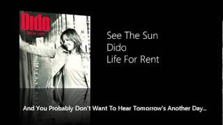 See The Sun - Dido