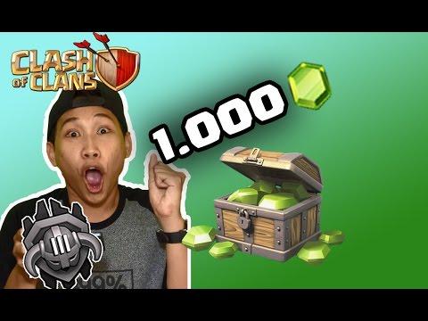 "Video Clash Of Clans - Push Trophy ke ""Master League"" | Dapat 1000 gems !!"