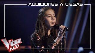 Daniela Sánchez - Los gatos no ladran | Blind Auditions | The Voice Kids Antena 3 2019