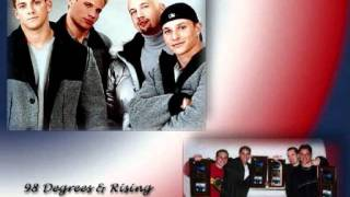 Instramental version of FLY WITH ME as performed by 98 DEGREES
